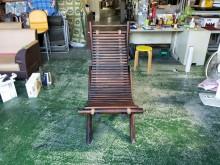 合運二手傢俱~實木乘涼椅其它桌椅有輕微破損