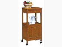 [全新] 優美實木單門單抽收納櫃收納櫃全新