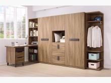 [全新] 佛羅倫斯10.5尺衣櫃55800衣櫃/衣櫥全新