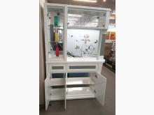 [全新] 圓頂4.2尺白色隔間櫃 桃區免運其它櫥櫃全新