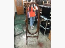 非凡 實木框 全身鏡鏡子有輕微破損