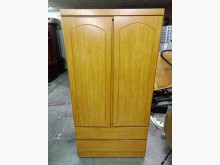 非凡 松木色3x6尺下兩抽衣櫃衣櫃/衣櫥有輕微破損
