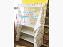 [全新] 小花層架防塵套-120寬版其它家具全新