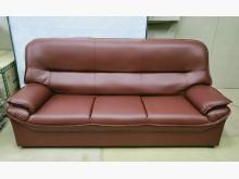 [全新] 011型酒紅色三人沙發 桃區免運雙人沙發全新