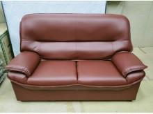 [全新] 011型酒紅色雙人沙發 桃區免運雙人沙發全新