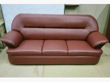 [全新] 009型酒紅色三人沙發 桃區免運雙人沙發全新