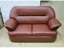 [全新] 009型酒紅色雙人沙發 桃區免運雙人沙發全新