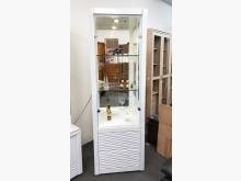 [全新] 藍光2尺烤亮白展示櫃 桃園區免運其它櫥櫃全新