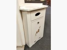 [全新] 艾利森珍珠白轉角彩繪垃圾桶櫃其它櫥櫃全新