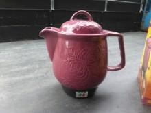 [全新] 連欣二手家電-皇品陶瓷煎藥壺棗紅其它廚房家電全新