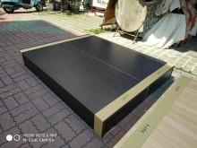 全新5尺床底限送台南市區雙人床架全新