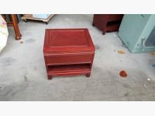 快樂福二手倉庫 舉木全實木床邊櫃其它桌椅無破損有使用痕跡