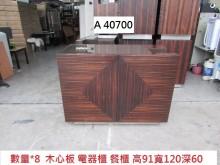 [8成新] A40700 電器櫃 餐櫃 事務收納櫃有輕微破損