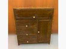 [7成新及以下] TK50729*古早味檜木櫃*收納櫃有明顯破損