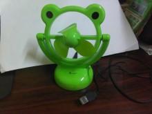 [全新] 連欣二手家電-青蛙造型小風扇電風扇全新