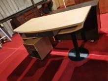 北歐時尚多功能電腦桌 側桌電腦桌/椅無破損有使用痕跡