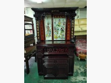 觀世音菩薩 4.5尺紅木神明桌組窗型冷氣無破損有使用痕跡
