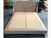 [9成新] 05050108麂皮布床三件組雙人床架無破損有使用痕跡