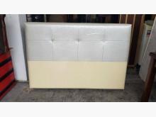 [全新] 全新康乃馨銀白色5尺厚皮墊床頭片其它家具全新