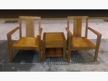 [8成新] F0516FJJ 柚木公婆椅木製沙發有輕微破損