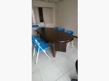 [9成新] 00072-7尺會議桌辦公桌無破損有使用痕跡