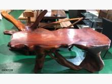[9成新] 06060108實木花梨泡茶桌椅桌子無破損有使用痕跡