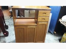 [9成新] 八五成新實木餐櫃.4千免運碗盤櫥櫃無破損有使用痕跡