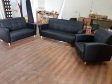 [全新] 合運二手傢俱全新1+2+3皮沙發多件沙發組全新