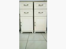 [7成新及以下] 英式質感木製收納三層櫃(高貴白)收納櫃有明顯破損