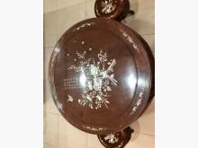 [9成新] 花梨螺鈿泡茶桌桌子無破損有使用痕跡