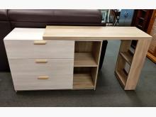 [全新] 葛洛莉4~7尺雙色伸縮中島桌收納櫃全新