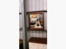庫存/零碼  胡桃框鏡子其它家具全新