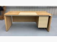 [9成新] E80711*白橡三抽書桌*書桌/椅無破損有使用痕跡