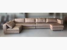 [9成新] A73106*香檳金大型L型沙發L型沙發無破損有使用痕跡