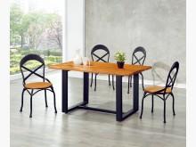 [全新] 時尚傢俱-C全新}工業風自然餐椅餐桌椅組全新