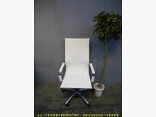 [95成新] 【二手家具】白色皮質升降辦公椅電腦桌/椅近乎全新