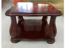 [95成新] 深色四方小茶几 沙發桌宏品茶几近乎全新
