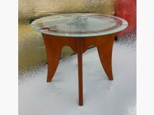 [95成新] 實木玻璃小茶几 客廳沙發桌茶几近乎全新