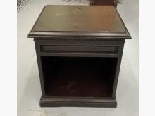 [8成新] 胡桃木矮櫃 泰山宏品中古傢俱館床頭櫃有輕微破損