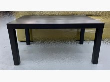 [95成新] IKEA黑色大茶几宏品中古傢俱茶几近乎全新