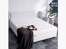[全新] 3M防潑水正三蜂巢獨立筒5尺雙人床墊全新