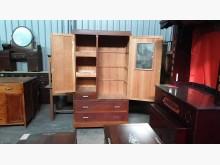 [9成新] 00673-老件檜木衣櫃衣櫃/衣櫥無破損有使用痕跡