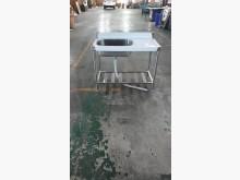 00677-全新白鐵左洗手槽流理台全新