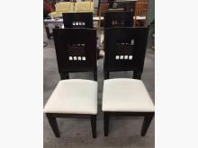 大慶二手家具 胡桃色餐椅(不拆賣餐椅無破損有使用痕跡