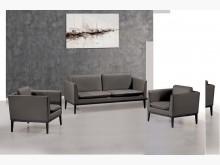 [全新] 歐格登皮製沙發組(1+1+3)多件沙發組全新
