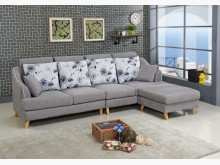 [全新] 畢維斯L型布沙發L型沙發全新