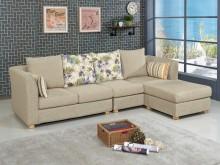 [全新] 莉蒂亞L型布沙發L型沙發全新