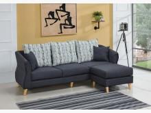 [全新] 韋納爾L型布沙發L型沙發全新