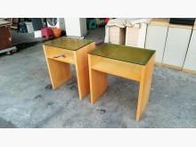 大慶二手家具 玻璃收納櫃(一對)收納櫃無破損有使用痕跡