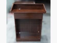 [7成新及以下] A90205*胡桃色講台*其它桌椅有明顯破損